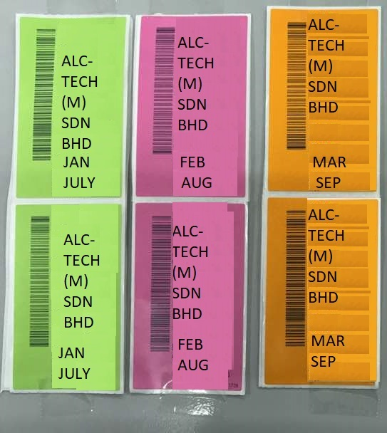 Colour coding in autotrack on demand goods receiving module your colour coding in autotrack on demand goods receiving module your inventory control solution tip sciox Images