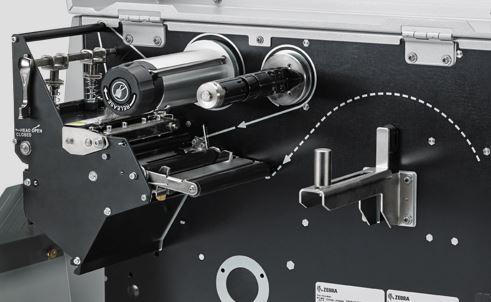 Understand Zebra ZT500 series table top printer base on it part