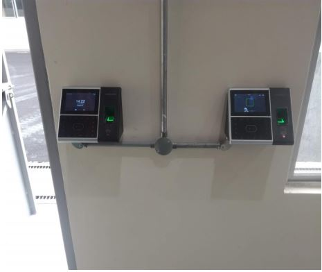 Door Access & Time Attendance Installation for one of the branded